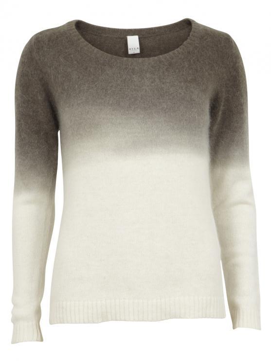 Suche ombre´ und nieten pullover (shopping