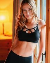bra,black bra,underwear
