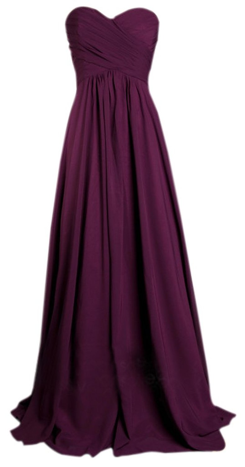 Prettydresses Women 39 S Long Wedding Party Dress Bridesmaid