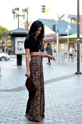 pants skirt boho maxi skirt printed pants boho pants