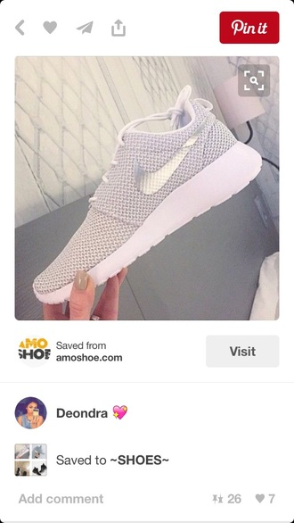 shoes nike juvenate mesh grey silver white gold roshe runs sneakers