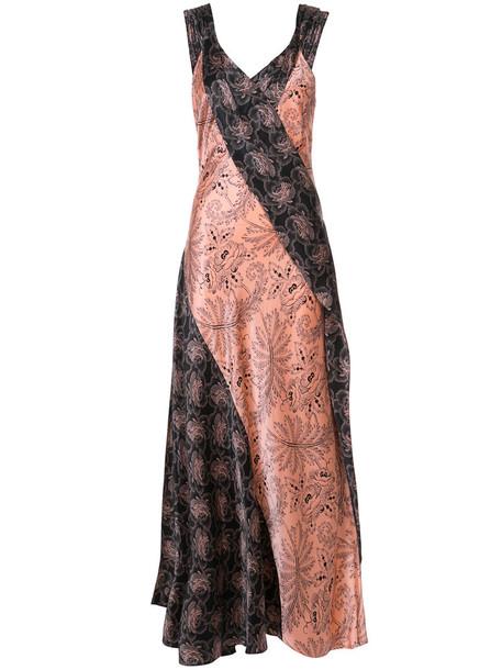 Dvf Diane Von Furstenberg dress women silk purple pink