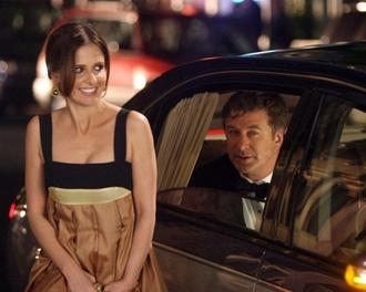 dress suburban gir sarah michelle gellar brown black chic girl movie
