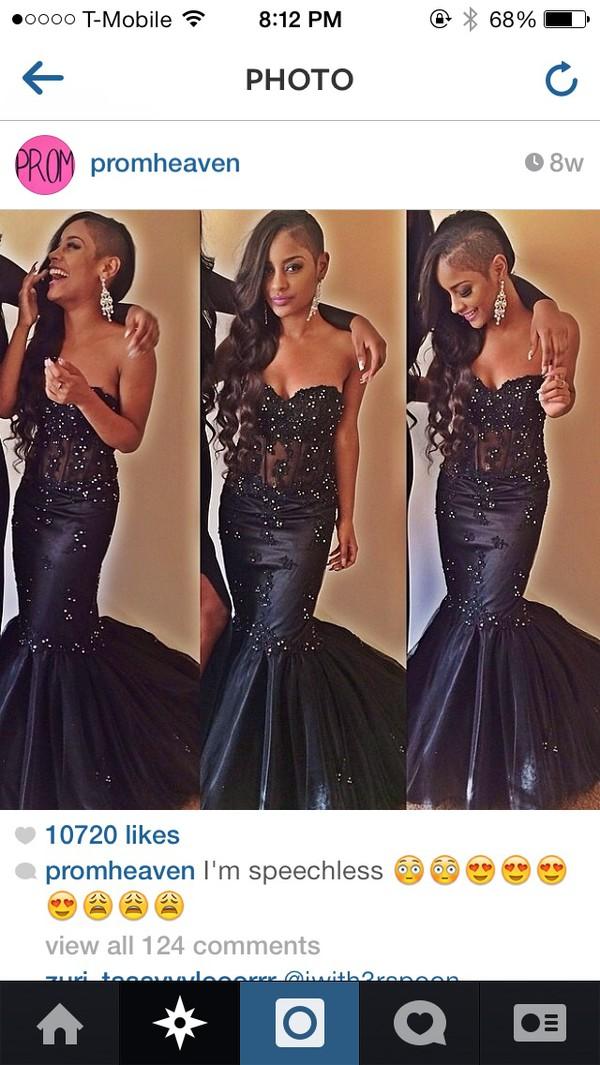 black dress black prom dress prom dress prom dress