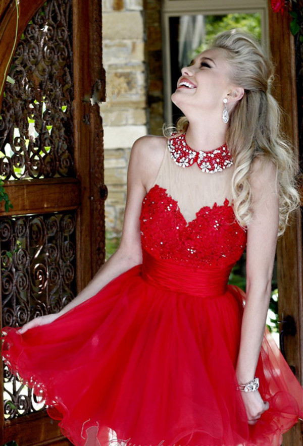mini dress red dress cocktail dress graduation dress sale dress brand  dress sherri hill ruffle dress floral dress 2014 dress dress
