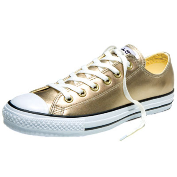 shoes sneakers gold converse
