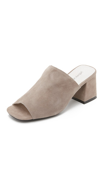 Jeffrey Campbell mules grey shoes