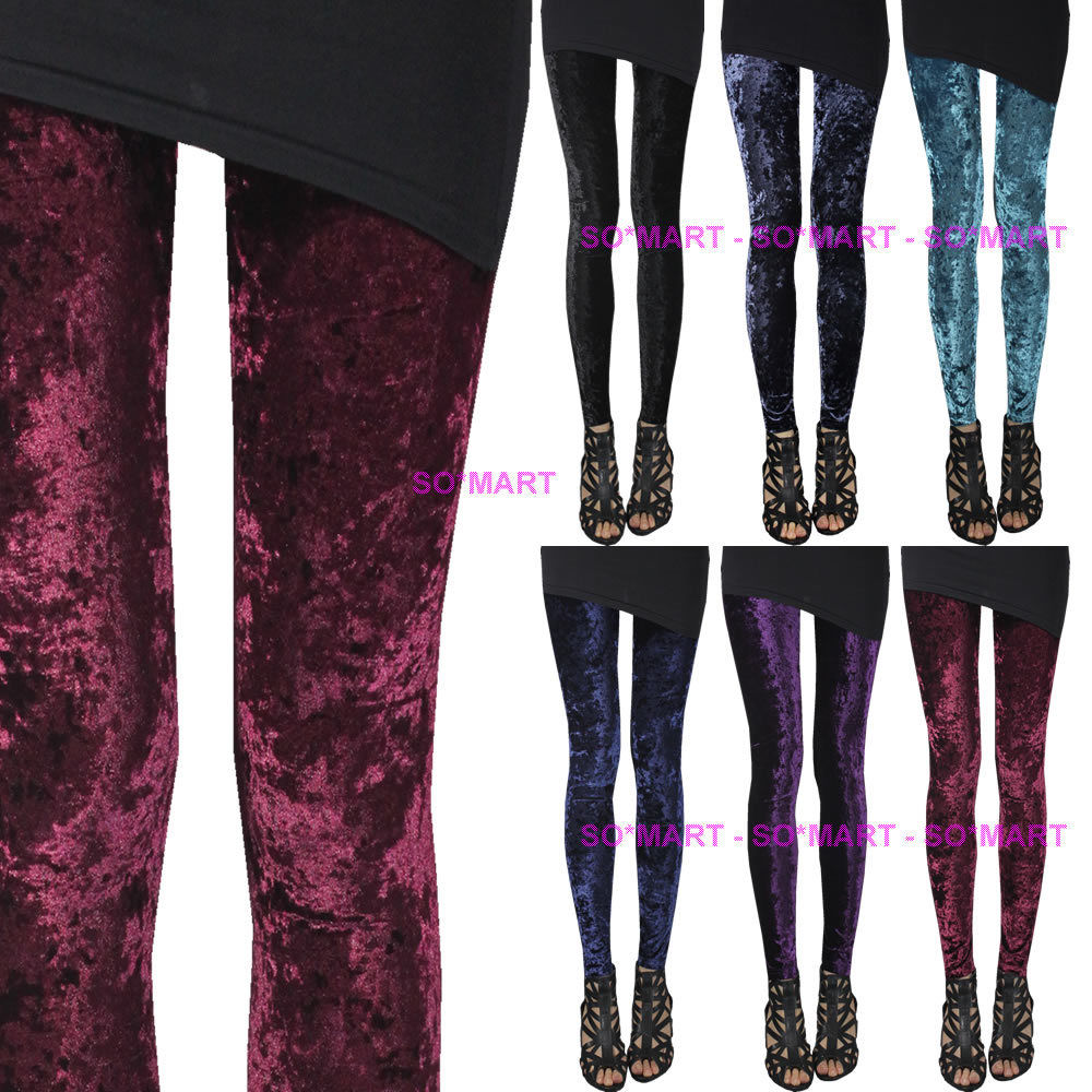 Velvet Women Rock Punk Funky Sexy Leggings Tights Pants SZ S Small M Medium   eBay