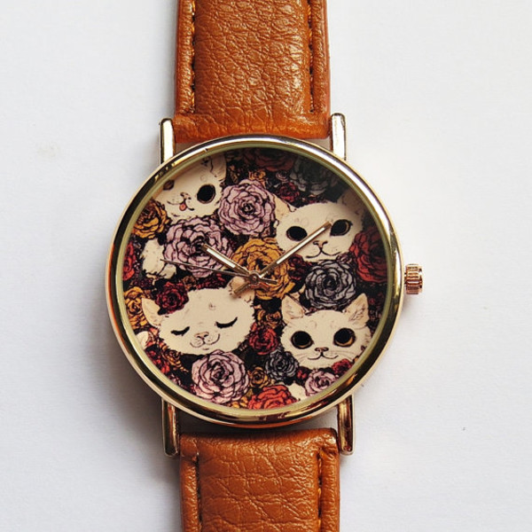 jewels cats cats freeforme watchf ashion style watch