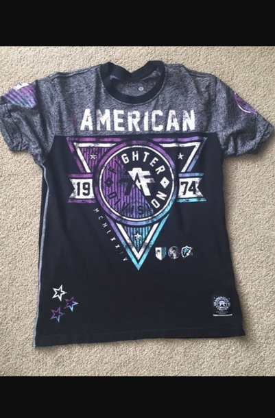 shirt american fighter