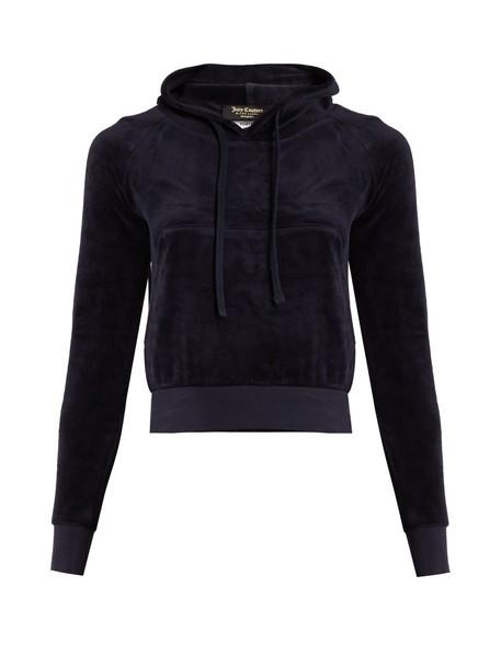 Vetements sweatshirt couture navy sweater