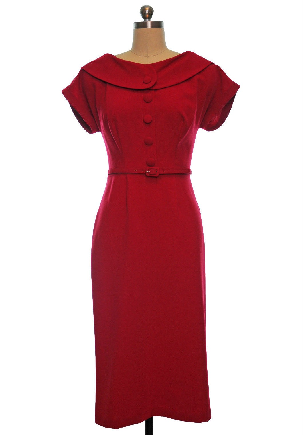 50s conventional vintage pin up dress