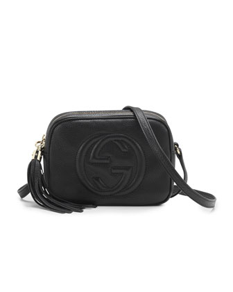 Gucci Soho Leather Disco Bag, Black - Neiman Marcus