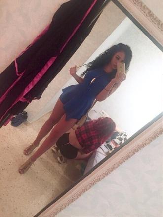dress blue dress short blue dress nightwear night dress night out dress