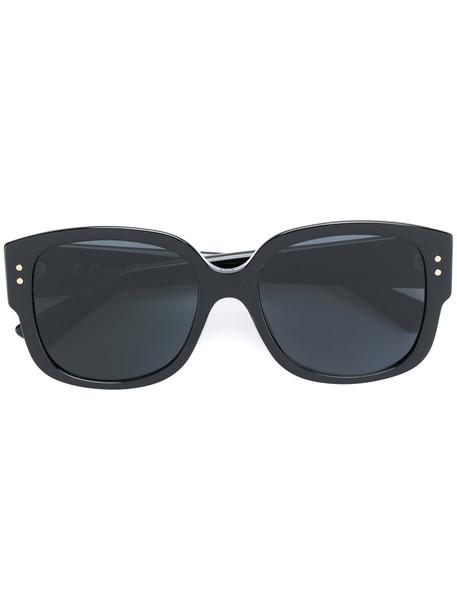 Dior Eyewear studs metal women sunglasses black