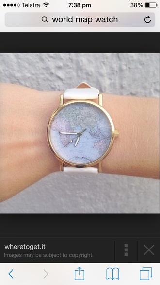 jewels watch world map