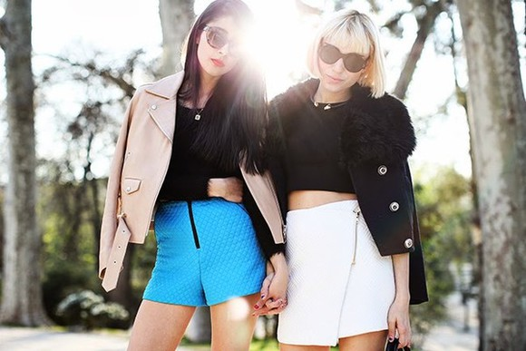 sweater chic muse shoes shorts jacket