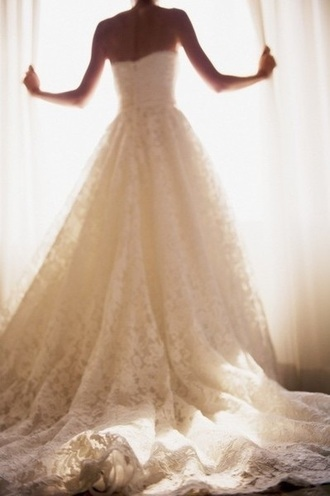 dress lace dress wedding dress strapless wedding dresses bridal gown