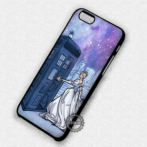 Police Box and Princess Shoe Cinderella - iPhone 7 6s 5c 4s SE Cases & Covers