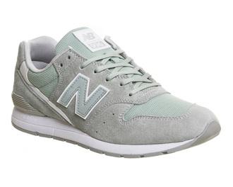 shoes mint grey new balance