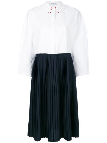 VIVETTA dress women white cotton