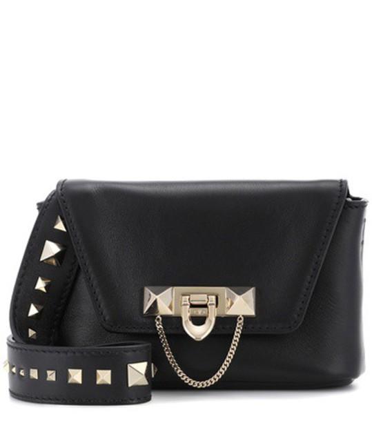Valentino bag shoulder bag leather black