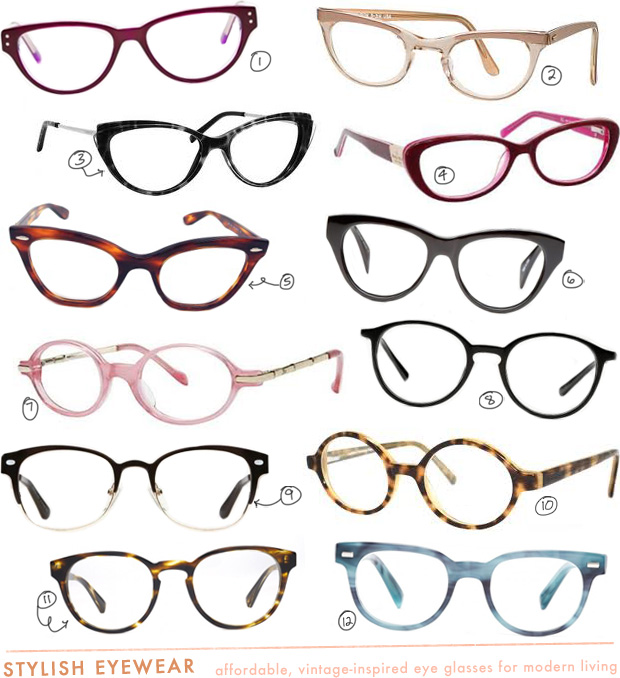 Mandi's Most Wanted: Vintage-Inspired Eyewear | Making Nice in the MidwestMaking Nice in the Midwest