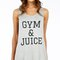Gym & juice tank top