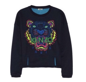 sweater black kenzo tiger