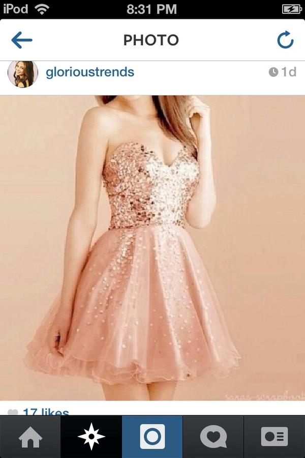 dress pink pink dress strapless dress strapless short dress