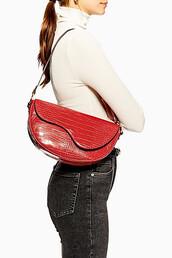bag,shoulder bag,red