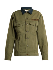 jacket,cotton,dark,green
