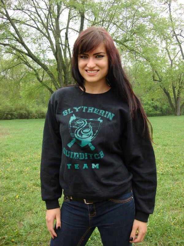 sweater slytherin harry potter