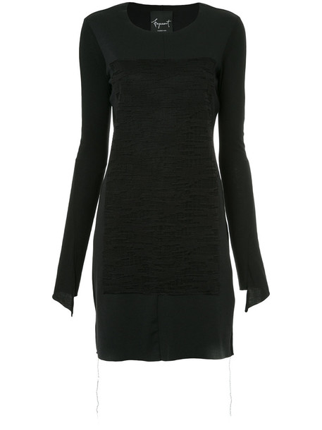 Fagassent dress women cotton black