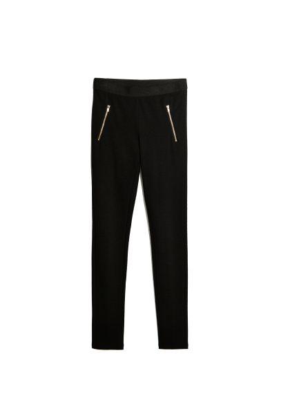 zip leggings