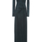 Long sleeve backless dress by galvan | moda operandi