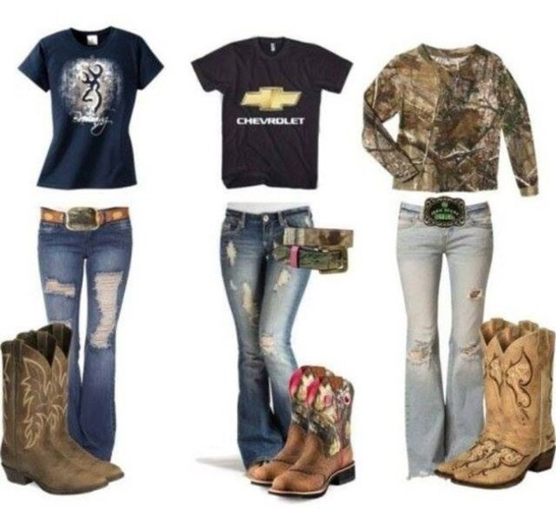 Country Ripped Jeans - Jon Jean