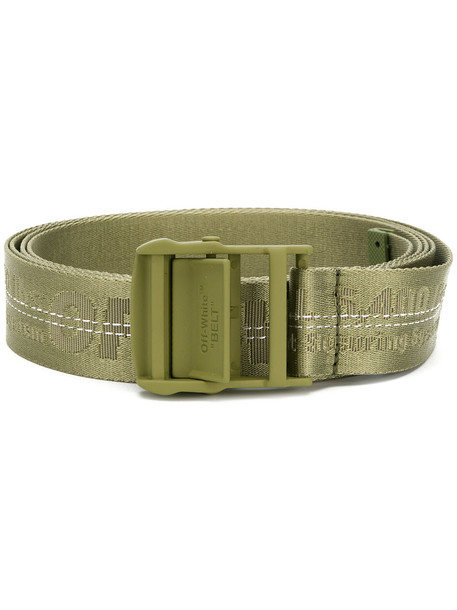 women belt green satin