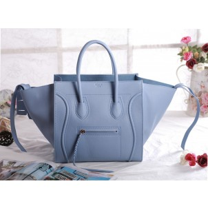 First Class Luxury Outlet Online 2014 Celine Phantom Tote Luggage Bag Light Blue United States