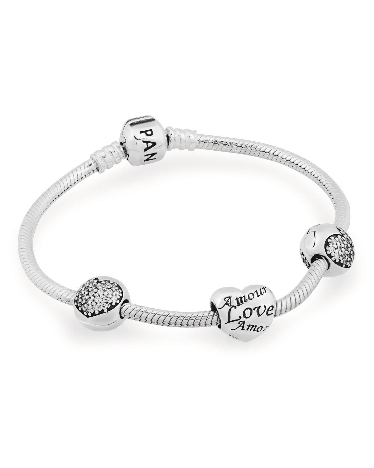 PANDORA Bracelet Gift Set - Love of My Life | Bloomingdale's