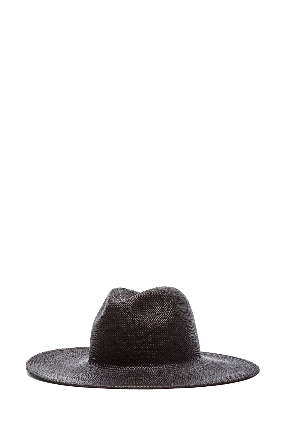 Janessa Leone | Rita Straw Hat in Black