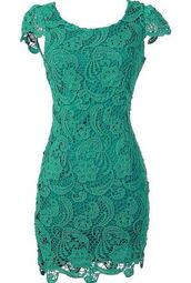 dress,mint,lace,tube dress,style,mint dress,mini dress,lace dress,green lace dress