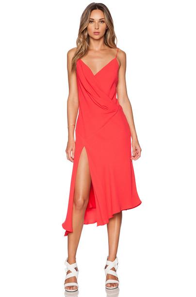 Nicholas dress red