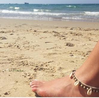jewels bracelets surf bracelet beach summer ankle jewelry ankle bracelet accessories