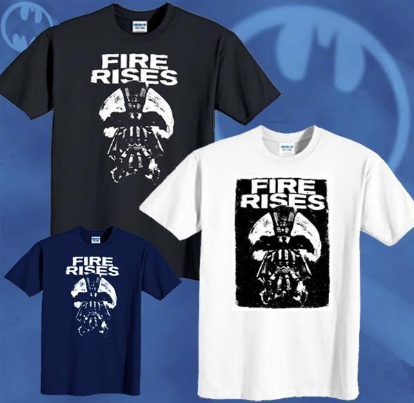 Shirt new the dark knight rises movie bane fire rise tee sizes s