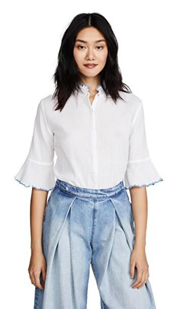 M.i.h Jeans shirt white top