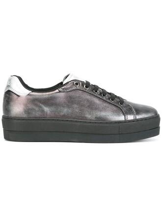 metallic sneakers metallic women sneakers leather black shoes