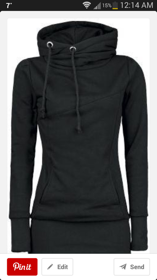 shirt sweatshirt black
