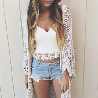 top crochet crop top white crop tops crochet top dress cardigan
