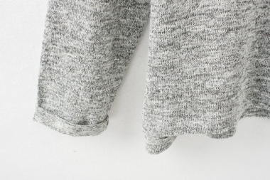 Pocket long sleeves loose sweater